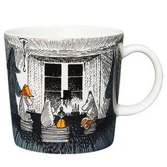"""Moomin Mugs from Arabia – A Complete Overview True to its origins / Alkuperää kunnioittaen The motif comes mainly from the story """"Moominpappa at Sea"""". Moomin Books, Moomin Mugs, Lulla Doll, Moomin House, Moomin Shop, Goods And Services, Goods And Service Tax, Lake Garden, Tove Jansson"""