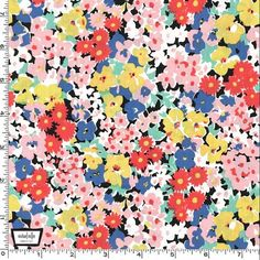 Glenda Floral Fabric