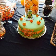 Ninja Turtle Autumn Cake