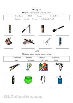makeup worksheets | Makeup worksheet - Free ESL printable worksheets made by teachers
