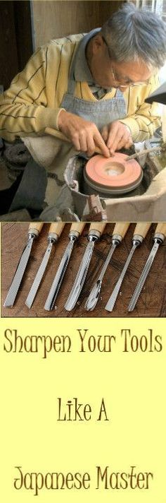 Sharpen Your Woodwork Tools Like A Japanese Master : http://vid.staged.com/wx9s #woodworkingtools