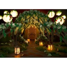 Take A Trip Through The Enchanted Forest At Prom