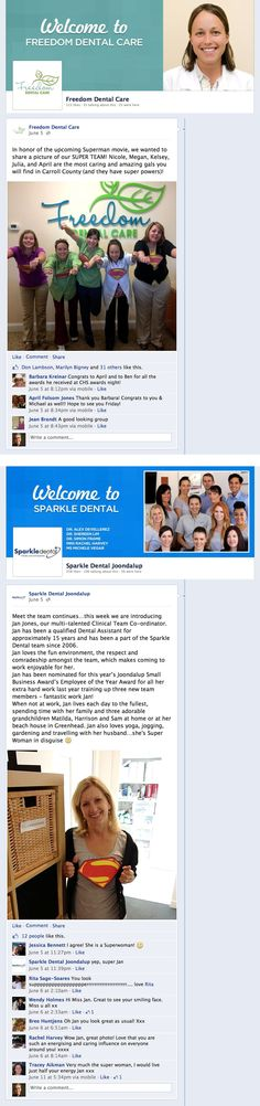 Looking to increase your practice's #Facebook page engagement? Try featuring your team members!