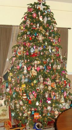 vintage christmas trees - Bing Images