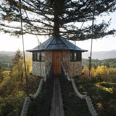 Foster Huntington Is Living Your Most Whimsical Treehouse Dreams Jacuzzi, Design Hotel, House Design, Glamping, Foster Huntington, Paraiso Natural, Cool Tree Houses, Cinder, In The Tree