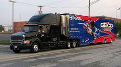 Geico, Transporter, Hauler, Toyota, NASCAR