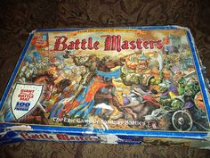 Vintage c.1992 and RARE Battle Masters Board game by BuyfromGroovy