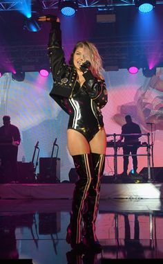 Fergie performs onstage during the 13th Annual ESPN The Party in Houston, Texas.