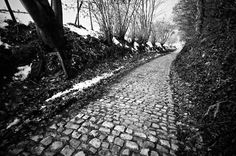 Tour of Flanders this weekend - the cobbles of the Koppenberg