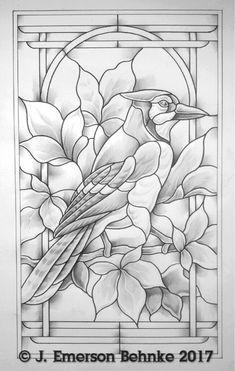 32 Ideas For Bird Sculpture Diy Stained Glass Stained Glass Birds, Stained Glass Designs, Stained Glass Patterns, Stained Glass Windows, Glass Painting Patterns, Glass Painting Designs, Vitromosaico Ideas, L'art Du Vitrail, Bird Sculpture