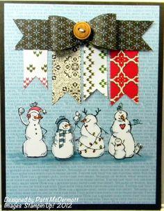 Patti McDermott: Crafting Up the Coast – Frosty Friends! -11/8/12.  (SU: Frosty Friends).