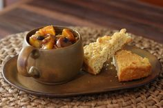 Bean Stew With Sausage, Butternut Squash, and Apples