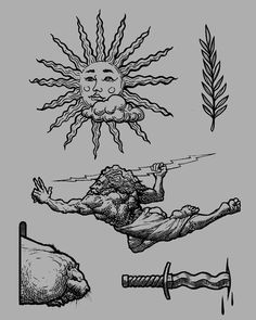 Tattoo art sketch nik_zag Dessin d& de tatouage nik_zag Flash Art Tattoos, Dope Tattoos, Black Tattoos, Body Art Tattoos, Tattoos For Guys, Sleeve Tattoos, Tattos, Tattoo Ribs, Arrow Tattoo