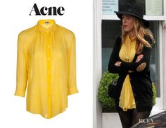 Fashion Trends: Blake Lively's Acne 'Adeline' Button Up Blouse