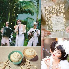 1920s Wedding Inspiration slideshow!
