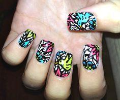 Hummingbird Nail Art Fake Nails