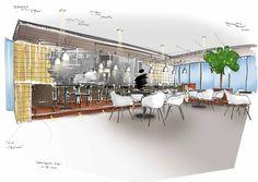 HUGO interieurvormgeving brengt de Beemsterpolder binnen in de groenste kaasmakerij ter wereld.
