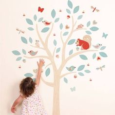 tree decals for walls - Google Search