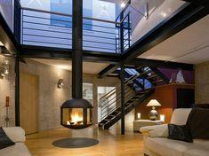 20 Einrichtungsideen für hängenden Kaminofen im modernen Haus