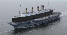 «Титаник» на палубе авианосца «Рональд Рейган»