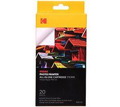 Kodak Mini Photo Printer Cartridge_PMC All-in-One Refill_20 Pack