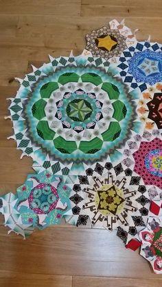 Hexagon Quilt, Hexagons, Quilting Tips, Quilting Designs, Millefiori Quilts, Paper Pieced Quilt Patterns, English Paper Piecing, Textile Art, Quilt Blocks