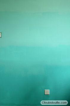 Ciloubidouille » Mur en dégradé de couleur