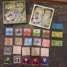 Game of the Week--Power Grid: The Card Game! Players bid for power plants at auction & supply them with resources. #games #gaming #tabletop #cardgames #riograndegames #powergrid