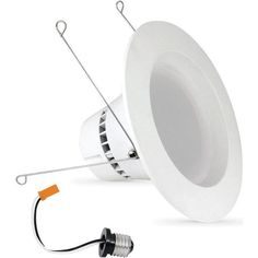 Feit Electric LEDR56/830/HBR HomeBrite Smart LED Retrofit Kit, 6, White