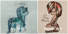 Blog post about when I began drawing MLPs until now! Click the image to check it out! Drawn by Penny @snetloc