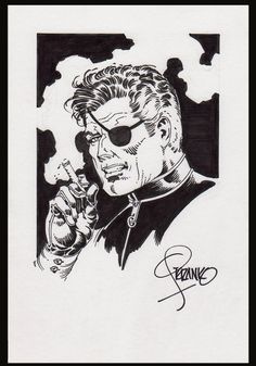 Nick Fury Specialty Art by Jim Steranko | eBay