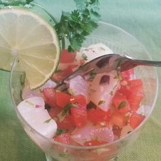 The Food Accomplice's Scallop Ceviche