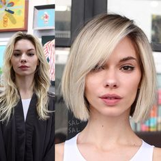 """4,895 curtidas, 62 comentários - SAL SALCEDO (@salsalhair) no Instagram: """"MAKEOVER TIME! From long to short! For our girl @paulinashafir Color @jeanpierresosa Cut/Style…"""""""