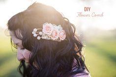 DIY: Flower Comb