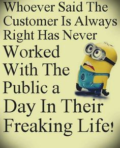 Minions are wise ...