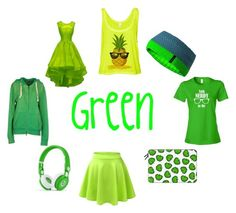 """""""Favorite Green Items"""" by theaterflyer ❤ liked on Polyvore featuring Mammut, Casetify and 40WEFT"""