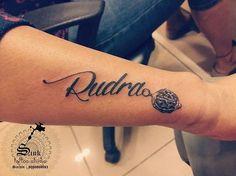 10 Luxus Tattoo Designs Name Rahul Bilder Daddy Tattoos, God Tattoos, Future Tattoos, Life Tattoos, Body Art Tattoos, Small Tattoos, Tattoos For Guys, Krishna Tattoo, Kali Tattoo