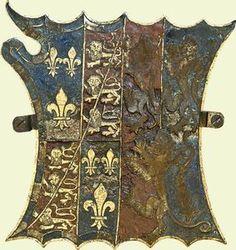 Garter Stallplate of Sir Charles Somerset, Lord Herbert of Raglan and first Earl of Worcester.