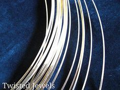 Wire 67714: 1Oz 8 Ga Ap. 2.57 14Ky Gold-Filled Half-Round Dead Soft Jewelry Wire Gauge G -> BUY IT NOW ONLY: $56.95 on eBay!
