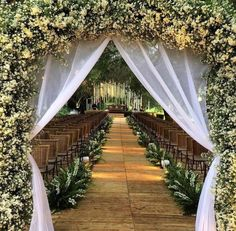 Wedding ceremony backdrop diy simple Ideas for 2019 Vintage Wedding Backdrop, Wedding Reception Backdrop, Wedding Entrance, Outdoor Wedding Decorations, Wedding Venues, Wedding Vintage, Rustic Wedding, Hall Decorations, Reception Entrance