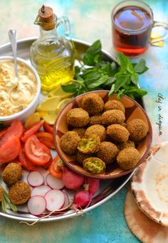 The ultimate authentic falafel recipe by chef in disguise. a blast of flavors from a combination of herbs and spices