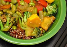 A Reader Gives Up Rice For Quinoa. After workout meal
