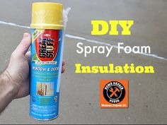 DIY Spray Foam Insulation (plus two more insulation tips!!) -- by Home R...