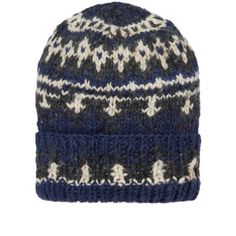 Chamula have created a comprehensive selection of knitwear, inspired by the artisanal production techniques of Central America. Constructed from 100% Merino wool, this satisfyingly substantial knit beanie is made by hand in Mexico and features an expertly executed selection of authentic detailing  100% Merino Wool Fair Isle Design Ribbed Cuff Bobble Detail Hand made in Mexico