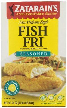 Best zatarains seasoned fish fri recipe on pinterest for Swai fish walmart