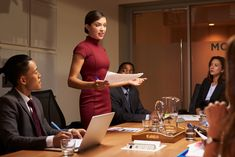 Female manager standing with documents at business meeting photo by monkeybusiness on Envato Elements Boss Lady, Girl Boss, Lawyer Fashion, Future Jobs, Work Motivation, Successful Women, Successful Business, Professional Outfits, Powerful Women