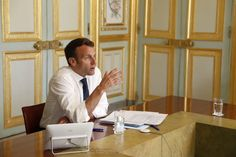 """French President Emmanuel Macron said there were grey areas in China's handling of the coronavirus outbreak and that things """"happened that we don't know about"""", speaking in an interview with the Fina… Native American History, American Civil War, British History, American Soldiers, Women In History, Ancient History, Le Figaro, Interview, France 24"""