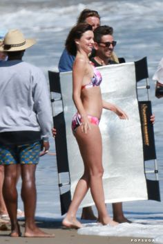 Pin for Later: Miranda Kerr Makes a Splash in Malibu Just Days Before Her Engagement