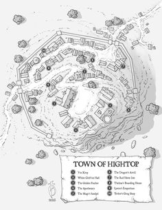 Town of Hightop by arsheesh on DeviantArt