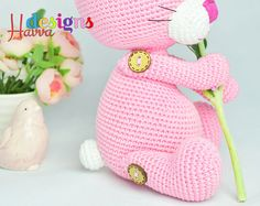 ◆❤ Welcome to Havva Designs Patterns Store ❤◆ ❥ This listing is for an amigurumi pattern, not the finished toy. ❥ Crochet pattern in pdf format, and